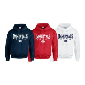 Imperial Immortals - Custom Ball Logo 2 hoodie