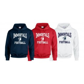 Imperial Immortals - Football logo hoodie