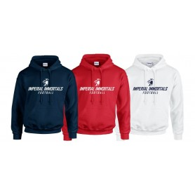 Imperial Immortals - Text logo hoodie