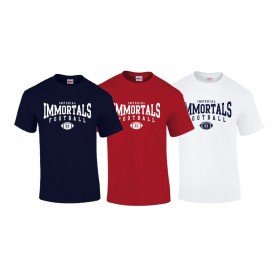 Imperial Immortals - Custom Ball logo 2 t shirt