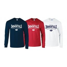 Imperial immortals - Custom ball logo 2 Long sleeve t-shirt