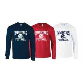 Imperial immortals - Custom Helmet Long sleeve t-shirt