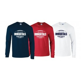 copy of Edinburgh Predators - Edinburgh Custom Ball 1 Logo Longsleeve T Shirt