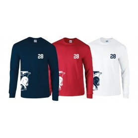 Imperial immortals - Team side logo long sleeve t-shirt
