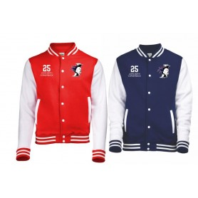 copy of Kent Falcons - Customised Embroidered Varsity Jacket