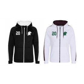 Swansea Titans - Embroidered Sports Performance Zip Hoodie