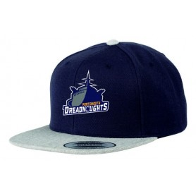 Portsmouth Dreadnoughts Women - Embroidered Ship Logo 2 Tone Snapback