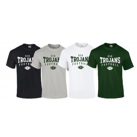 010 Trojans - Custom Ball Logo T Shirt 2