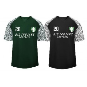 010 Trojans - Printed Blend Performance T Shirt