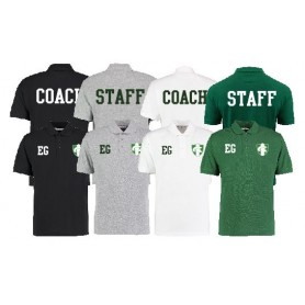 010 Trojans - Coaches Print And Embroidered Polo Shirt