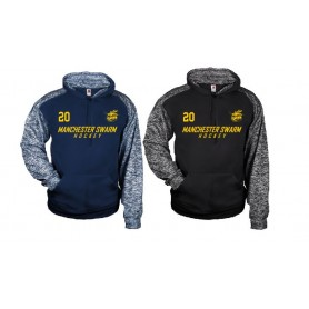 Manchester Swarm - Sports Blend Text Logo Hoodie