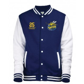 Manchester Swarm - Embroidered Varsity Jacket