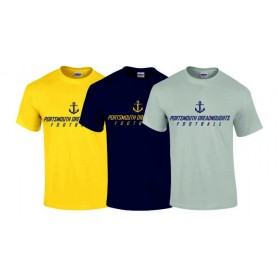 Portsmouth Dreadnoughts - Text Logo T Shirt