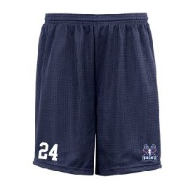 Milton Keynes Bucks - Custom Embroidered Mesh Shorts