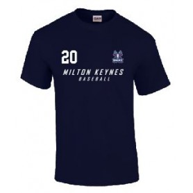 Milton Keynes Bucks - Custom Text Logo T shirt