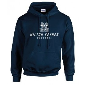 Milton Keynes Bucks - Simple text Logo Hoodie