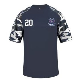 Milton Keynes Bucks - Printed Camo Performance T Shirt
