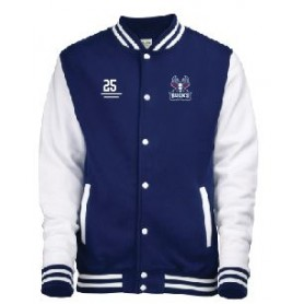 Milton Keynes Bucks - Embroidered Varsity Jacket