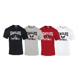 Eagles de L'Aigle - Football logo T Shirt