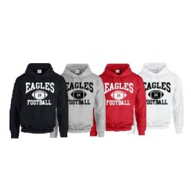 Eagles de L'Aigle - Custom Ball 1 Logo Hoodie