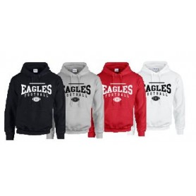 Eagles de L'Aigle - Custom Ball Logo 2 Hoodie