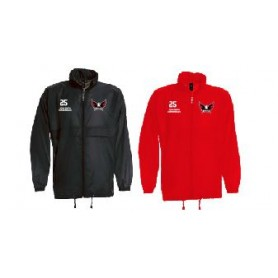 Eagles de L'Aigle - Customised Embroidered Lightweight Rain Jacket