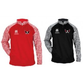 Eagles de L'Aigle - Customised Embroidered Tonal Blend Sport 1/4 Zip