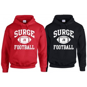 Staffordshire Surge - Coaches Custom Ball Logo 1 Hoodie