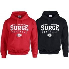 Staffordshire Surge - Coaches Custom Ball Logo 2 Hoodie