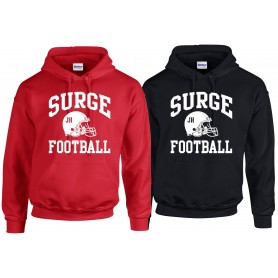 Staffordshire Surge - Coaches Custom Football Logo Hoodie