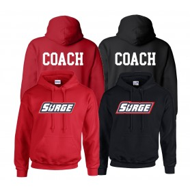 Staffordshire Surge - Coaches Full Logo With 'Coach' Hoodie