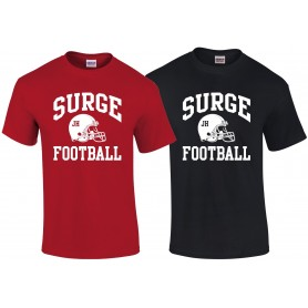 Staffordshire Surge - Coaches Custom Football Logo T Shirt