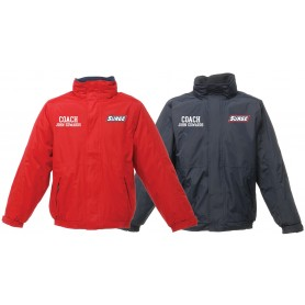 Staffordshire Surge - Coaches Embroidered Heavyweight Dover Rain Jacket