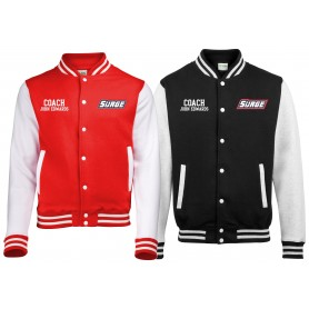 Staffordshire Surge - Coaches Customised Varsity Jacket