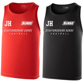 Staffordshire Surge - Coaches Custom Printed Performance Vest