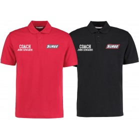 Staffordshire Surge - Coaches Embroidered Polo Shirt