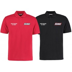 Staffordshire Surge - Coaches Embroidered Polo Shirt V2