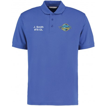 Hellingly Hound Dogs - Custom Embroidered Polo