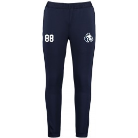 BU Bobcats - Customised Embroidered Zipped Pocketed Slim Fit Track Trousers