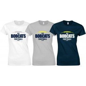 BU Bobcats - Women's Laces Logo T Shirt