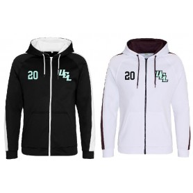 UEL Phoenix - Embroidered Sports Performance Zip Hoodie