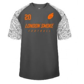 London Smoke - Printed Blend Performance T Shirt
