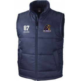 Lincoln Colonials - Embroidered Bodywarmer