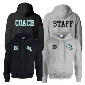 Uel Phoenix - Print And Embroidered Coach Or Staff Hoodie