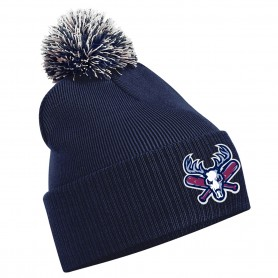 Milton Keynes Bucks - Embroidered Bobble Hat