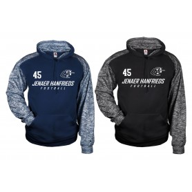 Jenaer Hanfrieds - Sports Blend Text Logo Hoodie