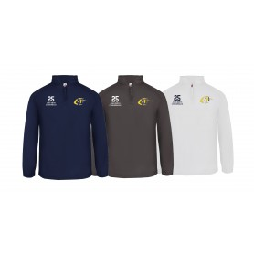 Jenaer Hanfrieds - Custom Embroidered 1/4 Zip Poly Fleece Pullover