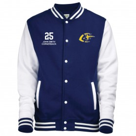 Jenaer Hanfrieds - Embroidered Varsity Jacket