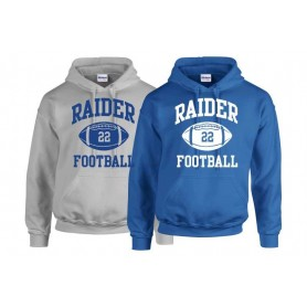 Newcastle Raiders - Custom Ball Logo 1 Hoodie