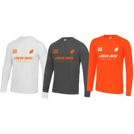 London Smoke - Customised Longsleeve Performance Jersey